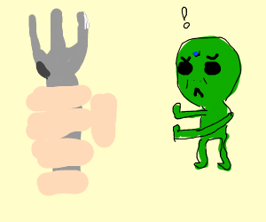 Alien thinks fork is a WMD