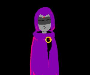 raven is blind