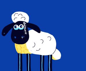 Detailed Shaun the Sheep