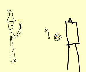 Arise, my art tools!
