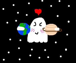 Ghost loves Earth and Saturn