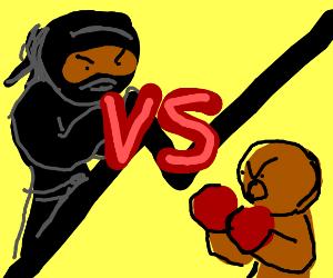 Ninja vs boxer