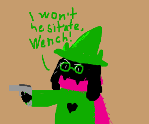 ralsei gona shoot you