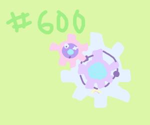 600 pokemon
