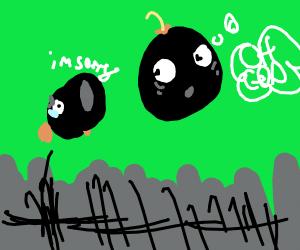 Sentient canonball bomb