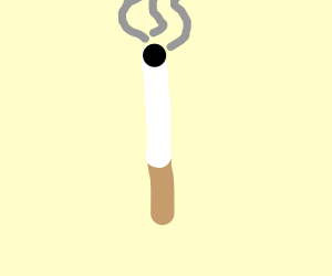 Awfully nsfw cigarette