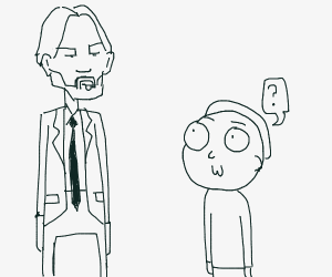 John Whic and Morty