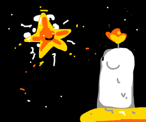 candle meets star