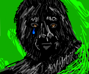 Crying Gorilla