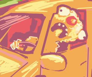 Yellmo drives yellow taxi