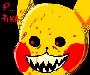 Bloody pikachu