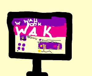 Waluigi's profile in WAHbook