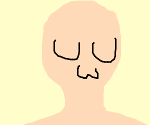 Human w/ UwU face