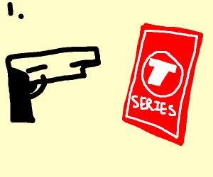 Step 1: murder T-series