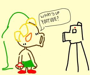 deku link is a youtuber