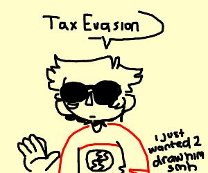 dave strider commits tax evasion