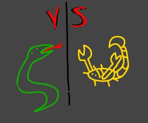 Snek vs Skorpion