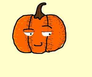 Smug pumpkinboy