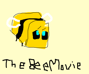 Bee Movie, Minecraft Edition.