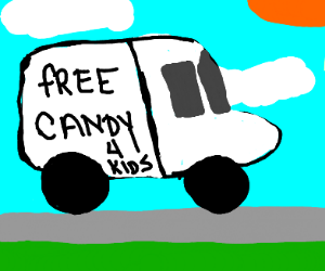 hEY KidS waNT sOme fREe canDy?