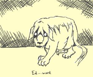 snoopy saying ed...ward