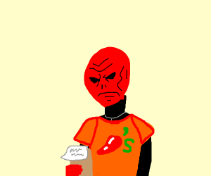 red skull works at chillies