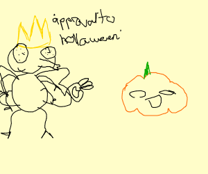 King of Flies likes Halloween