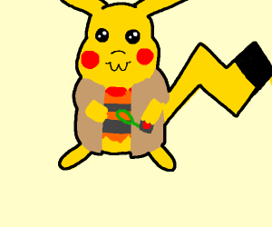 Totally Not Suspicious Pikachu