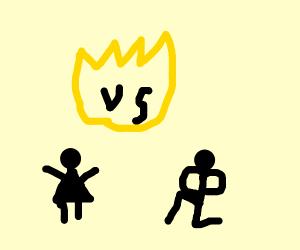 woman vs male