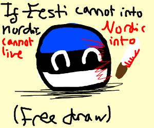 Free draw.