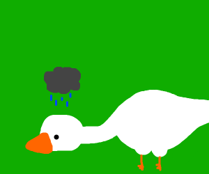 Untitled goose game has sad honk
