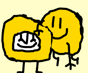 A Happy Yellow Clock