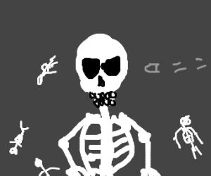 doom man killed all the skeletons