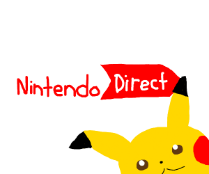 Pikachu welcomign you to Nintendo Direct.