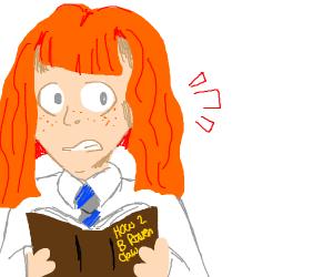 Hermione is secretly a Ravenclaw