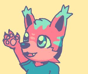 Cute furry