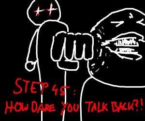 Step 44, say hi back