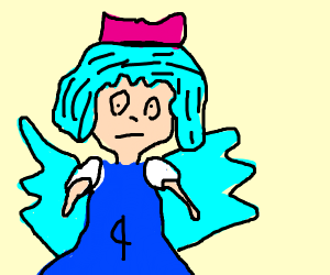Cirno, the 9, the Strongest!