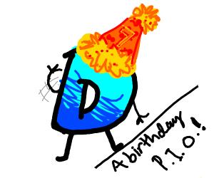 A Birthday p.i.o!