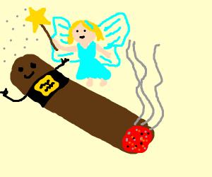 Cigar (alive)