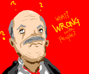 dr phil questioning the human race