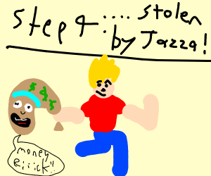 Step 3: all your money is stolen