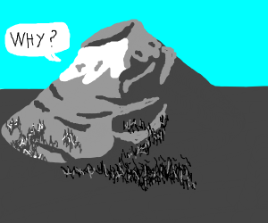 a vulcano questioning it's existence