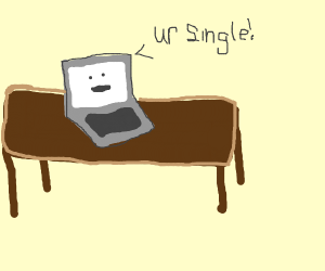 Computer knows you're single