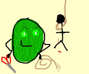a killer watermelon