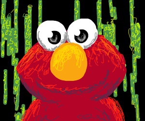 Elmo in the Matrix