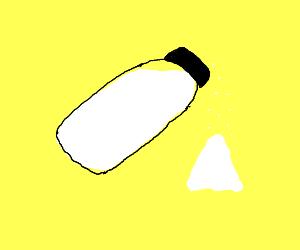 Salzshaker ist salty