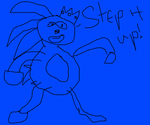 King Sanic tells you to step it up