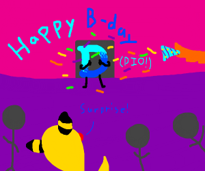 Happy Birthday Drawception P.i.O