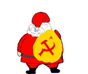Santa is part of the Soviet Union